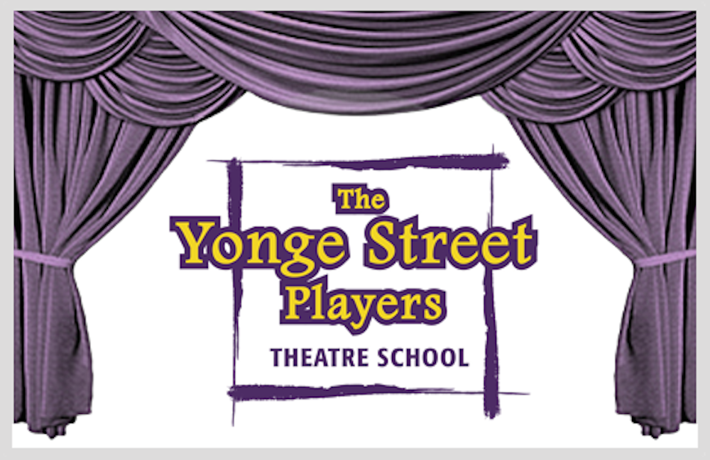 Yonge Street Players, a toronto theatre school for young people ages 7 to 17 logo.